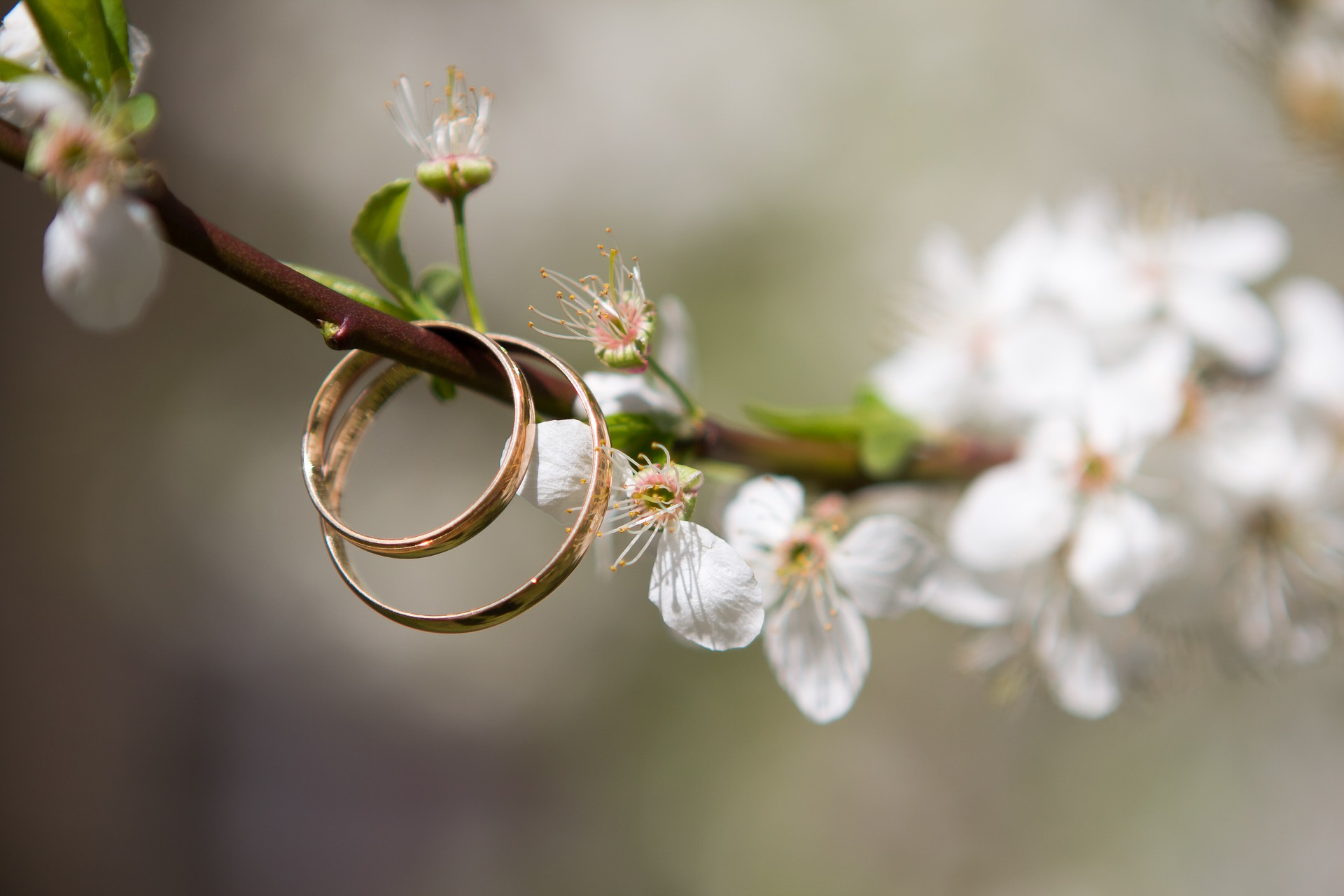 Cómo combinar anillos de boda